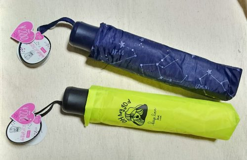 ダイソー ガールズトレンド研究所コラボ第4弾 折りたたみ傘の写真1