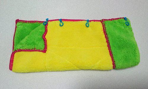 吸水折りたたみ傘カバーの作り方7