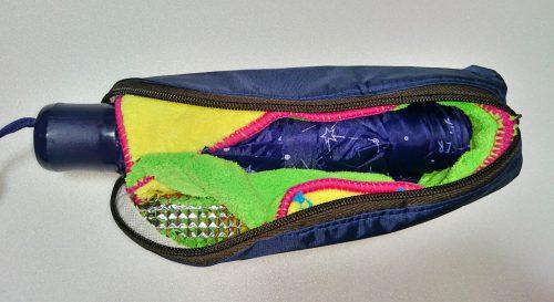 吸水折りたたみ傘カバーの作り方12