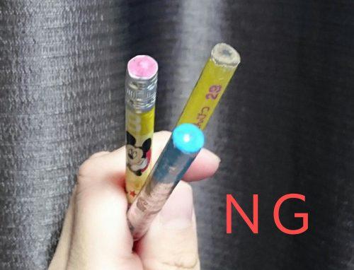 鉛筆削り「TSUNAGO」で使用できない鉛筆