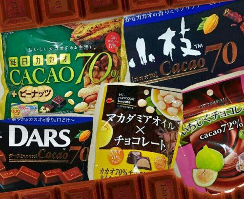 2017年10月購入のハイカカオチョコ5種類