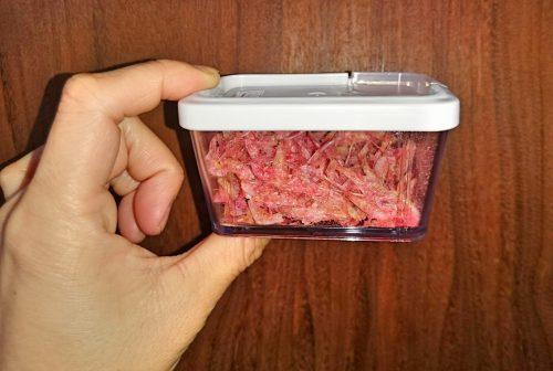 ダイソー「オープンキャップ保存容器」の写真3