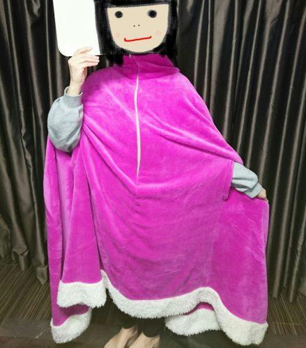 着る毛布モフア(mofua)の写真1