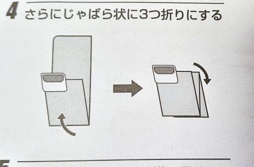 取扱説明書のイラスト